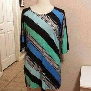 Sunny Leigh Dresses & Skirts - 🍀 SALE Striped sheath dress