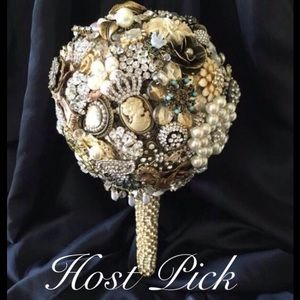 Jeweled Wedding Bouquet