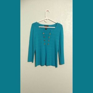 Cable & Gauge Tops - Cable & Gauge Blouse