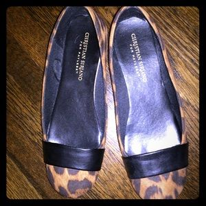 Christian Siriano Shoes - Christian Siriano Cheetah Print Flats