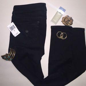 """Hudson Denim - Brand New Black Hudson Jeans """"Collin Skinny Jean"""""""