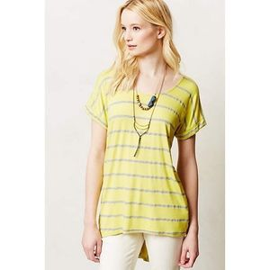 Anthropologie Tail Stripe Tee