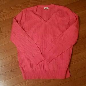 Kim Rogers Sweaters - SALE🎉Kim Rogers XL Coral Sweater