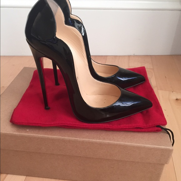 christian louboutin hot chick heels