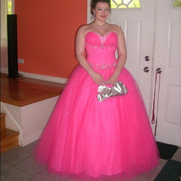 Mori Lee Dresses | Pink Ball Gown Prom Quinceanera Dress | Poshmark