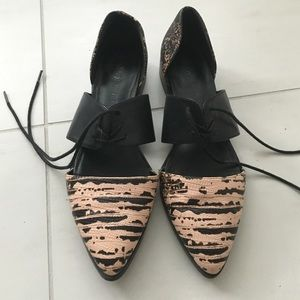 Nasty Gal Shoe Cult Lace Up Flats