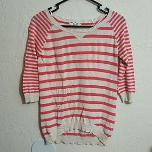3/4 sleeve sweater top