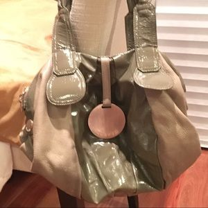 Gustto Handbags - Gustto Cala olive green leather satchel