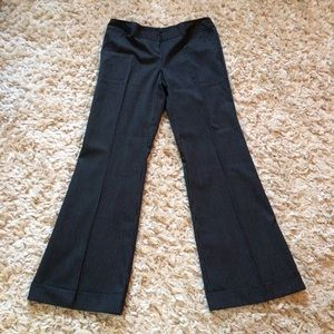Tracy Evans Limited Pants - NWT! Cuffed Black & White Pinstripe Trousers