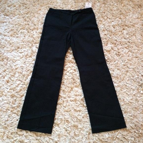 Nine West Pants - NWT! Black on Black Pinstripe Pants