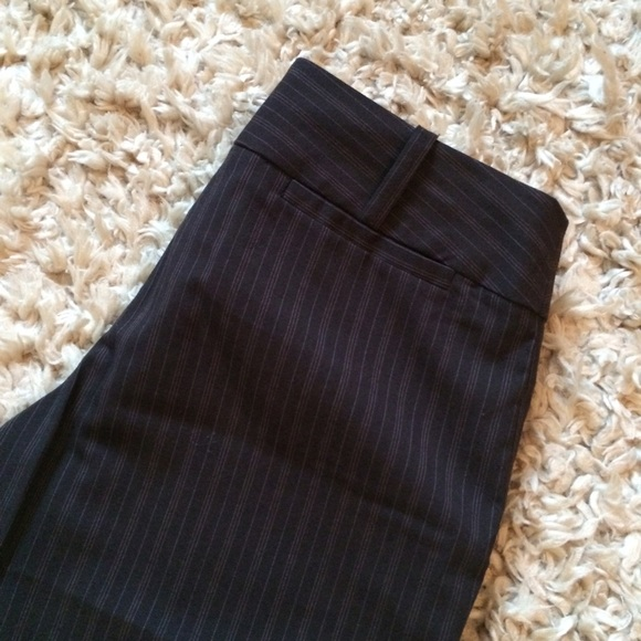 Mossimo Supply Co. Pants - Brown Three Pinstripe Design Trousers