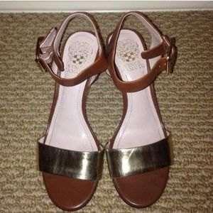 Vince Camuto wedge sandals!