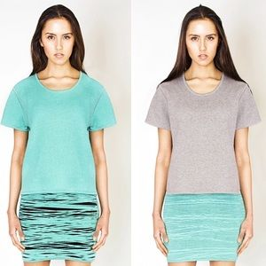 NWT Cotton Oversized Thick T-shirt