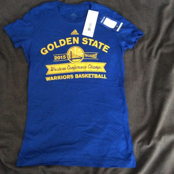 Nwt State Tshirt New Golden Warriors With TagsAdidas WIYH29ED