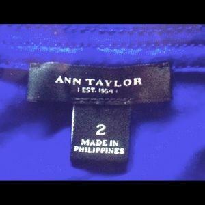 Ann Taylor Dresses - Ann Taylor Royal Blue Sheath Wrap Dress