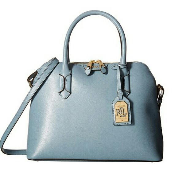 d426aa5f93b0 Ralph Lauren Dome Satchel Cameo Blue. M 57113e1b36d5940dee0088a1. Other Bags  ...