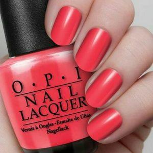 OPI Brights Nail polish Lacquer Enamel Coral