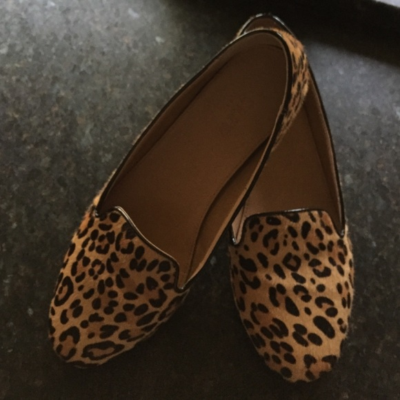 9ad4197266e J. Crew Shoes - J crew factory leopard print loafer