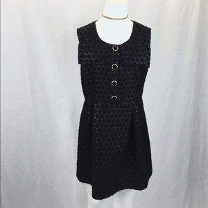 NEW PRICE!! Black Manoush Polka Dot Dress