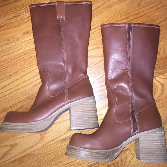 e56bd4f773a Frye Shoes - 90 s Vintage Platform Frye Boots