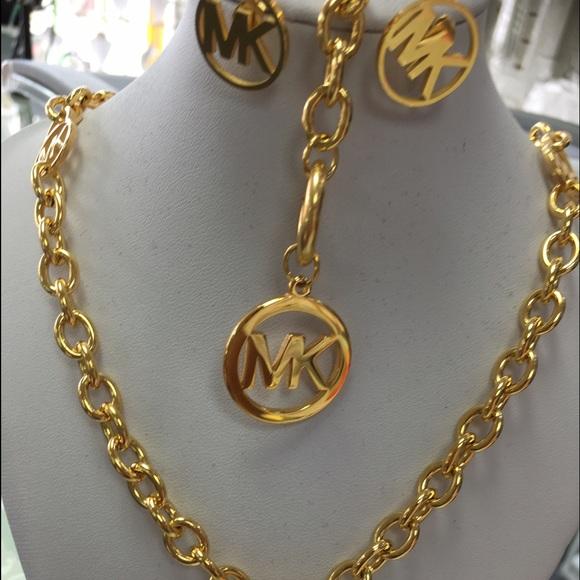 0c24374de29e4b Mk Jewelry | Luxury Set Earring Bracelet Necklace | Poshmark