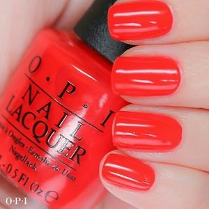 OPI BRIGHTS Nail polish enamel lacquer Red