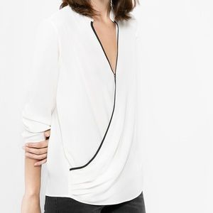 Mango Tops - Mango Crossover Blouse