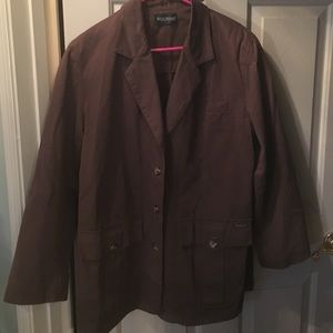 Harve' Benard Brown Jacket