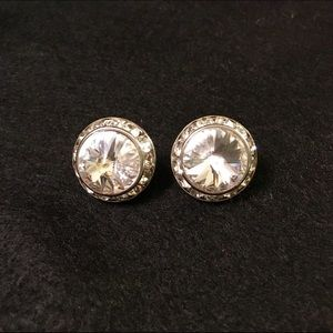 J crew crystal earrings