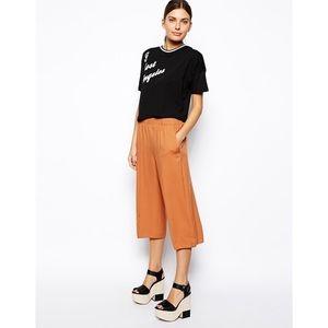 ASOS Pants - Orange Culottes ASOS Small
