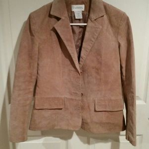 Chadwicks 4 genuine sueded leather coat