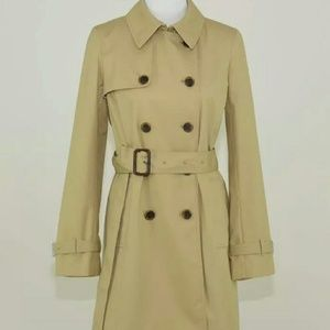 JCREW icon Trench Coat Size 6