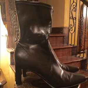 Gianni Bini Black Ankle Boots