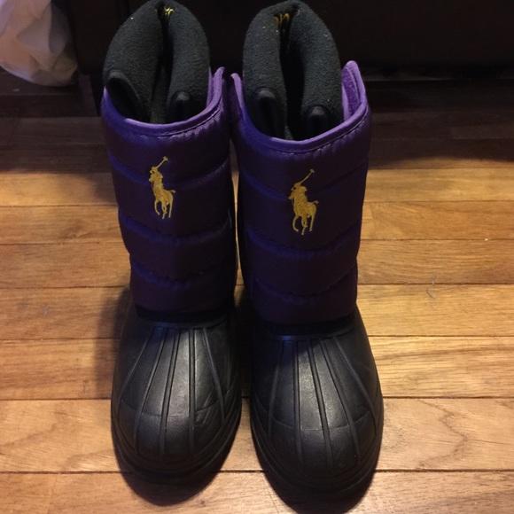 bb43a5b81f8 Polo Ralph Lauren Snow Boots