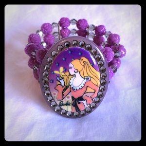 Tarina Tarantino Jewelry - Tarina Tarantino Butterfly Barbie Stretch Bracelet