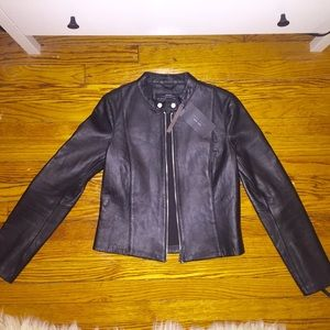 Zara Faux Leather Jacket - NWT