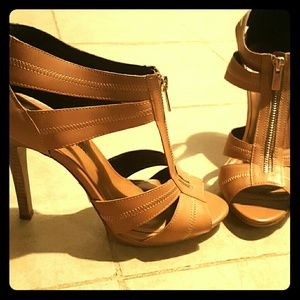 Jessica Simpson Vachetta Tan Leather