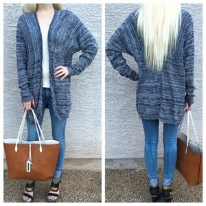 Sweaters - 🌲Buy 1 Get 1 Free🌲 Blue Sweater Cardigan