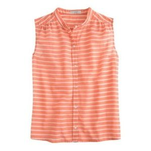 J. Crew Tops - J. Crew Striped Sleeveless Top