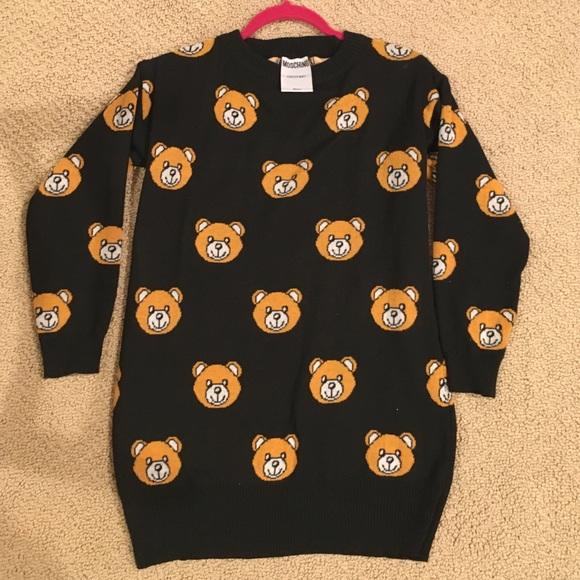 5c003b035bf Moschino Sweaters | Couture Teddy Bear Sweater | Poshmark