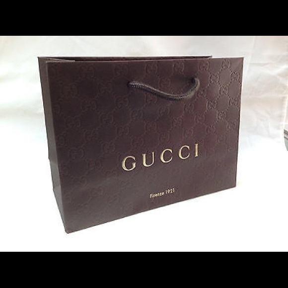 4e456ab18a8a Gucci Bags | 5 Piece Lot Gift Bag Embossed Interlocking G | Poshmark