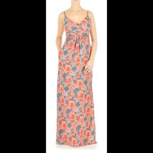 New Eshakti Floral Print Maxi Dress M 10