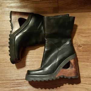 Bakers Shoes - Vintage Leather and Wood boots