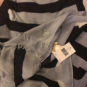 KATE SPADE BLUE SCARF BRAND NEW WITH TAGS
