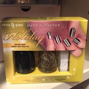 New China glaze nail polish kit