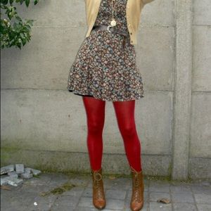 Urban Outfitters Accessories - RED TIGHTS