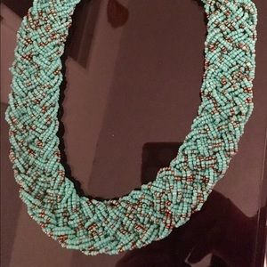 Beautiful Turquoise Statement Necklace!