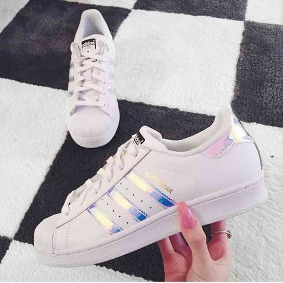 adidas superstar dames holographic