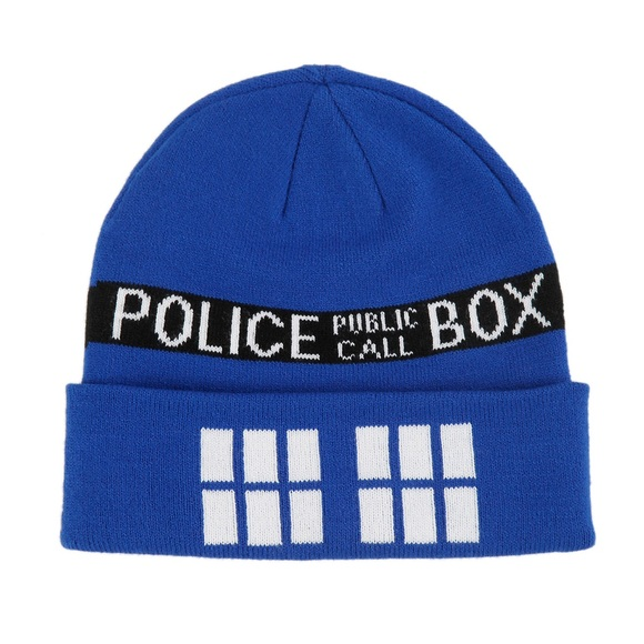 Hot Topic Accessories - Doctor Who TARDIS beanie 65c63bd57f1c