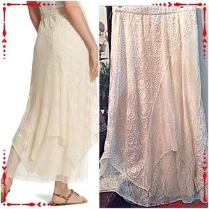 Chico's Dresses & Skirts - 🎉HP🎉30% OFF BUNDLES!💗Chico's Lace Skirt💗